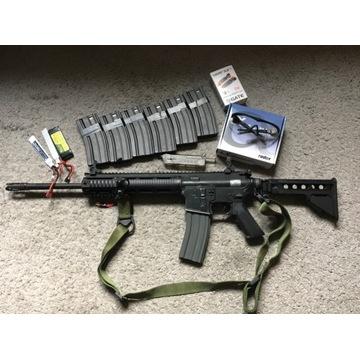 ASG Z-M Weapons LR-300 (Najdłuższa lufa) + Szpej