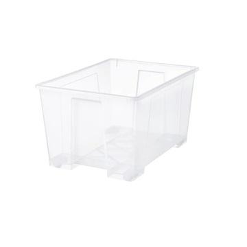 Pojemnik pudełko ikea SAMLA 130 litrów + pokrywka