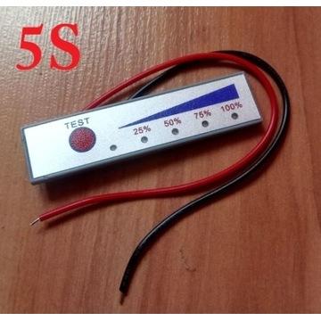 Wskaźnik naładowania akumulatora Li-Ion 5S 21V