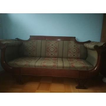 Sofa, kanapa, ławka, biedermeier, około 1820 rok