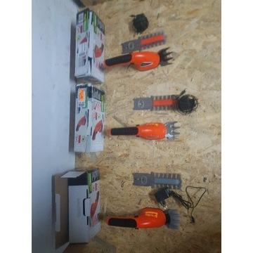 Akumulatorowe nożyce do trawy krzewów 3,6 Li