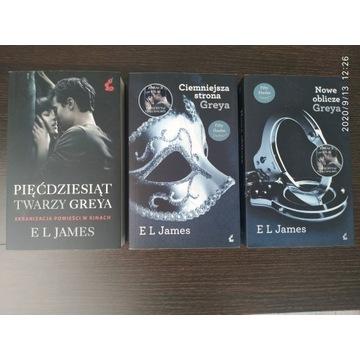 Książka trylogia E.L JAMES