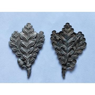 WW2 - Jager Odznaka strzelców Liście Dębu