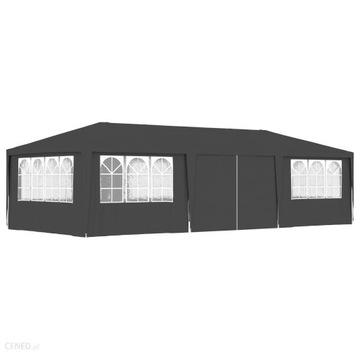 Namiot imprezowy ze ściankami 4x9 m