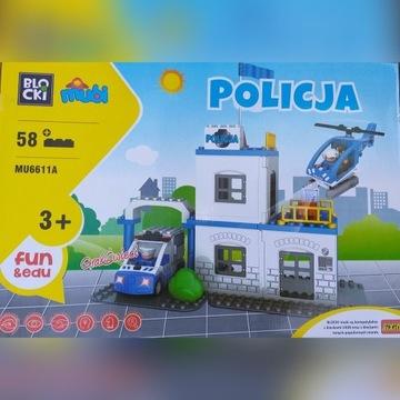 Duże Policyjne Klocki Mubi