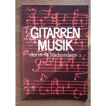 nuty gitarowe - utwory XVI-XVIII-wieczne