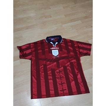 Anglia Umbro retro koszulka 1997/99 unikat XL