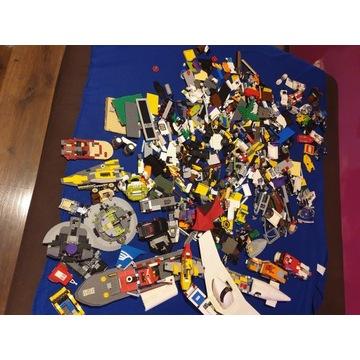 KLOCKI LEGO 14 kg mix city, star wars, pirates