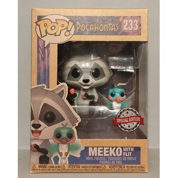 Pocahontas FUNKO POP Meeko with Flit 233 Exclusive