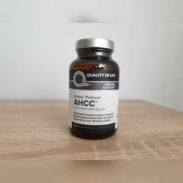 AHCC Kinoko Platinum 750mg 60caps Quality of Life
