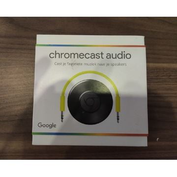 Google Chromecast Audio nowy unikat