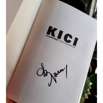 Lucjan Brychczy KICI autograf w książce!