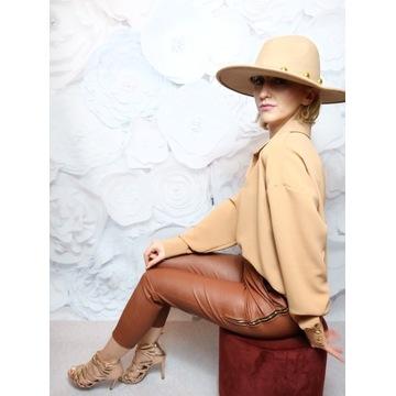 Spodnie z Eco skóry