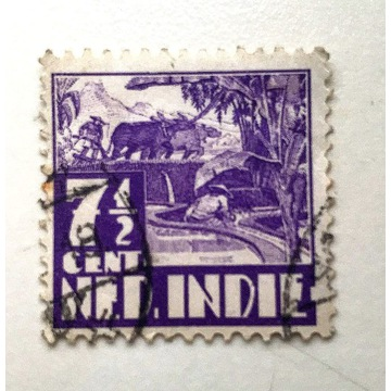 Kolonie holenderskie 7 1/2 Cent Ned. Indie