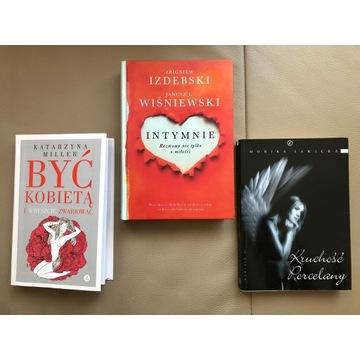 Być kobietą zestaw 3 książek Wiśniewski Sawicka