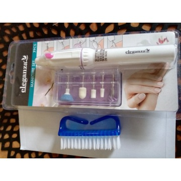 Elektryczny zestaw do manicure + gratis