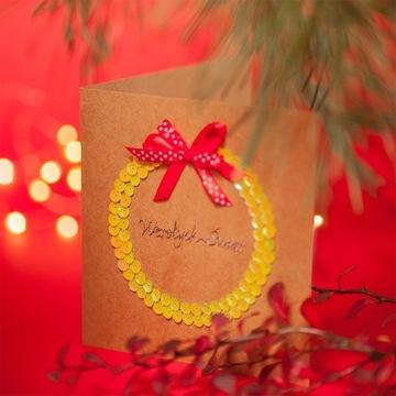 Kartki świąteczne rękodzieło