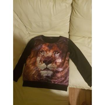 Bluza damska z lwem rozm. L