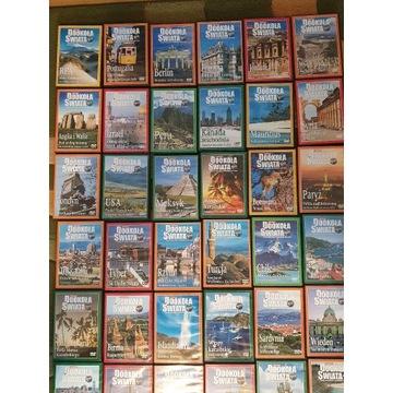 kolekcja DOOKOŁA ŚWIATA 69szt DVD