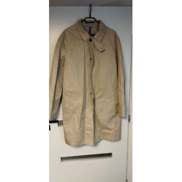 Bawełniany płaszcz RESERVED wodoodporny, NOWY