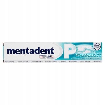 PASTA DO ZĘBÓW MENTADENT P MICROGRANULI 75ml