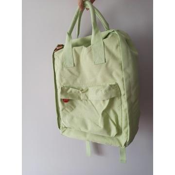 Plecak Pixi zielony seledynowy pastelowy nowy A4