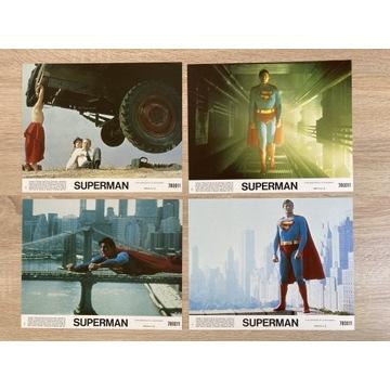 Superman - Christopher Reeve- karty kinowe - kadry