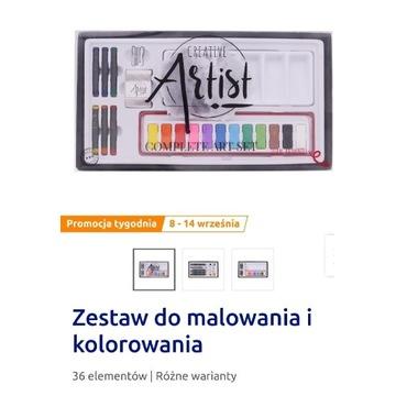 Zestaw do malowania i kolorowania