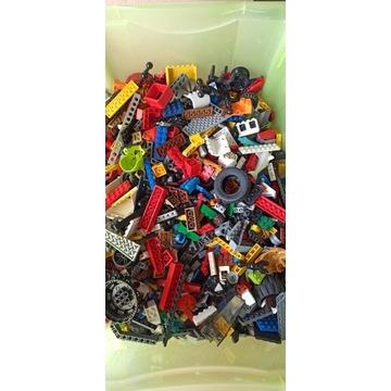 Klocki LEGO miks, mieszane, różne na kilogramy kg