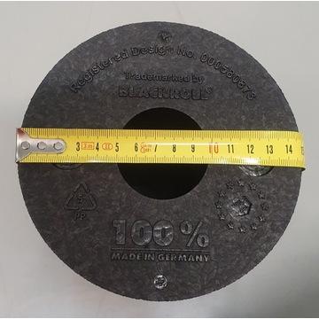 Oryginalny wałek Blackroll czarny, standard, 30x15