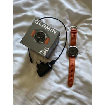 Zegarek Garmin Fenix 6 Sapphire Titanium