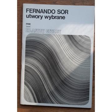 Fernando Sor - utwory wybrane na gitarę