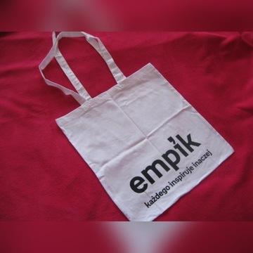 Nowa biała torba eco, kosztowała 39.99 zł.
