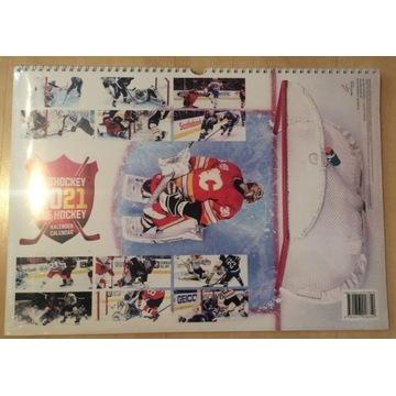Kalendarz 2021 NHL Nowy w Folii - przesyłka GRATIS