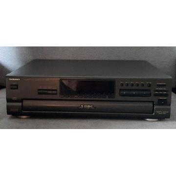 Technics SL-PD 687 na 5 CD+pilot+nowy laser+inst