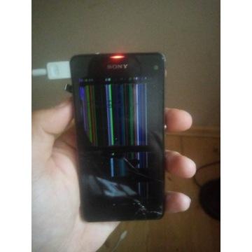 Uszkodzony Sony xperia z1 Compact