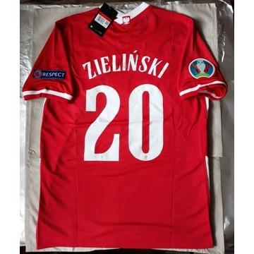 Koszulka Piotra Zielińskiego 2021 Polska Euro 2020