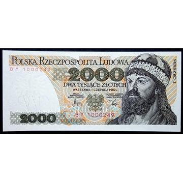 2000 zł - 1982 - BY - st.1 UNC