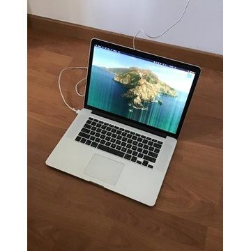 Macbook Pro Retina A1398 r. 2012 15'' - uszkodzony