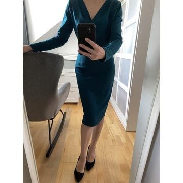 Kopertowa sukienka S/M
