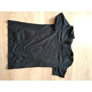 Koszulka do biegania damska czarna M