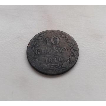 10 groszy 1840r