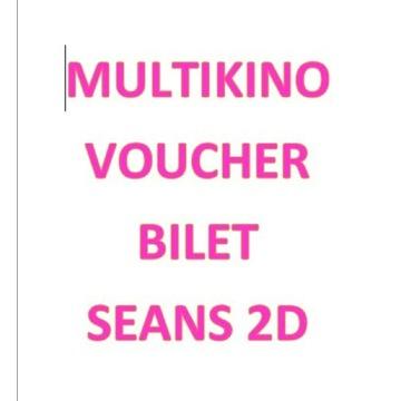 Kod voucher na bilet do Multikina na seans 2D