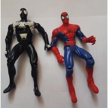 SPIDER-MAN  - DWIE FIGURKI, TOY BIZ, TAS, LATA 90