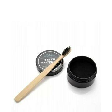 Węgiel Wybielający Zęby Teeth Whitening+ Szczotka