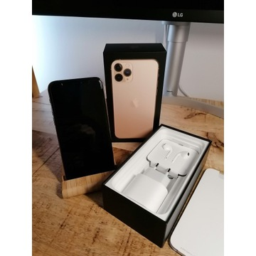 Apple Iphone 11 Pro, 64 GB, złoty, stan idealny