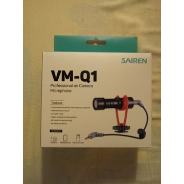 Mikrofon pojemnościowy Ulanzi Sairen VM-Q1