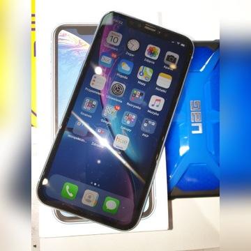 Apple iPhone XR,64Gb,etuiUAG,szkło-stan BDB