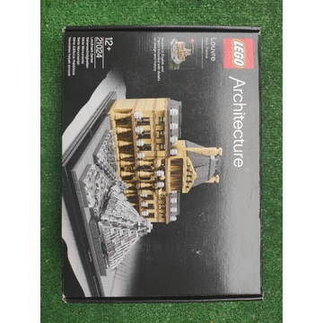 Lego Architecture Luwr 21024 nowy zaplombowany