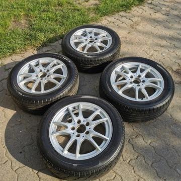 felgi Alu 16 5x112 Mercedes Audi Vw letnie opony